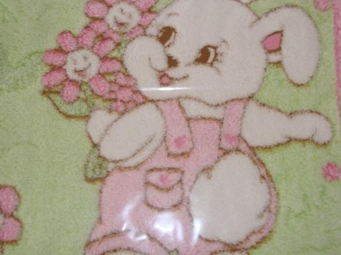 Одеяло за бебе в розово