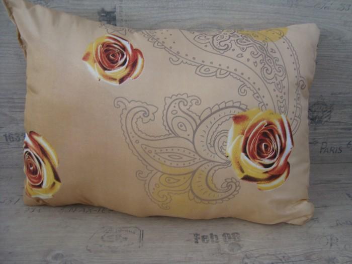 Възглавница Дунапрен -Кафява малка роза