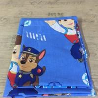 Комплект чаршафи за бебе от ранфорс  Пес патрул