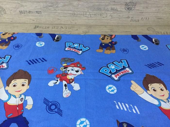 Комплект чаршафи за деца от ранфорс - Пес патрул