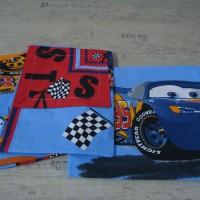 Комплект чаршафи за деца от ранфорс- Маккуин Старт